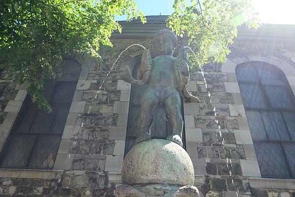 Fischpüddelchen-Brunnen Aachen