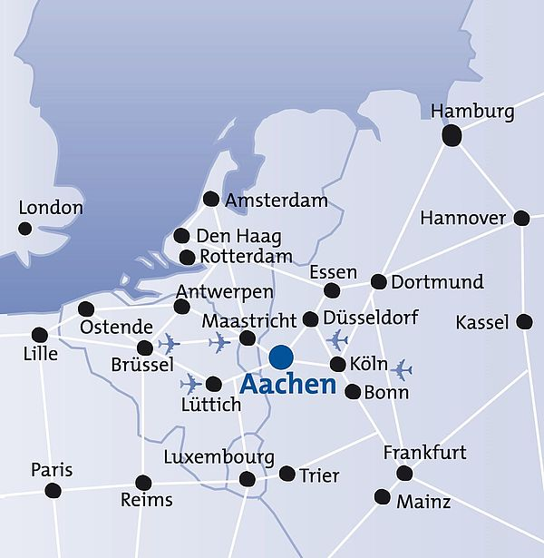 Lageplan Aachen