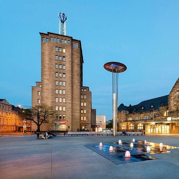 Aachen Hauptbahnhof Vorplatz