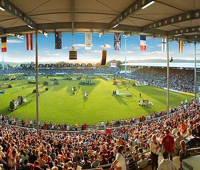 Weltfest des Pferdesports / CHIO Aachen AachenMünchener Tribüne