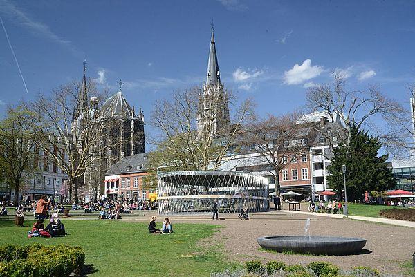 Elisengarten in Aachen
