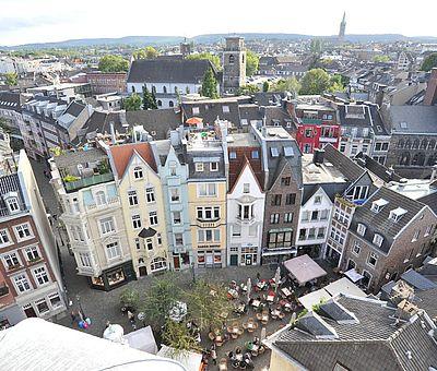 Kleiner Münsterplatz Aachen