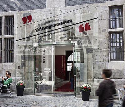 Internationales Zeitungsmuseum Aachen Außenansicht