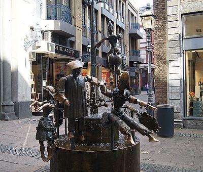 [Translate to Englisch:] Puppenbrunnen Aachen