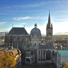 Aachener Dom / Blick vom Katschhof