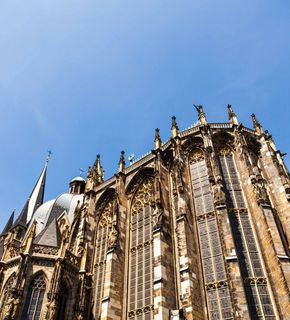 Aachener Dom Chorhalle von außen