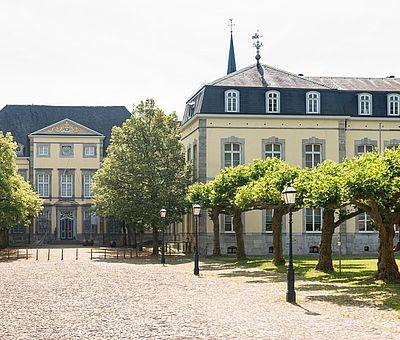 Aachen-Kornelimünster ehemalige Reichsabtei Kunsthaus NRW