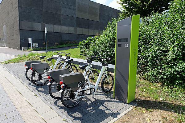 Velocity E-Bike Verleihsystem Aachen