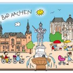 Aachen Frühstücksbrettchen