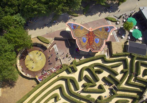 Labyrinth am Dreilaendereck Aachen