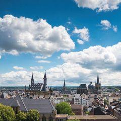 Aachen Skyline bei Tag