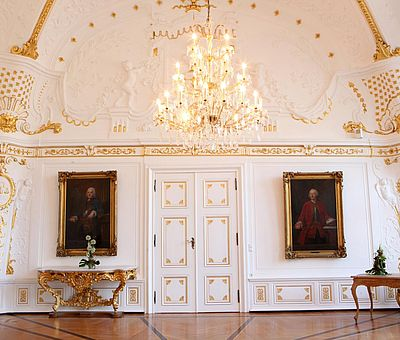 Weißer Saal im Aachener Rathaus