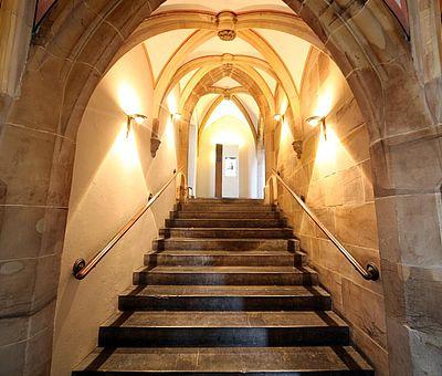 Ark'sches Treppenhaus im Aachener Rathaus
